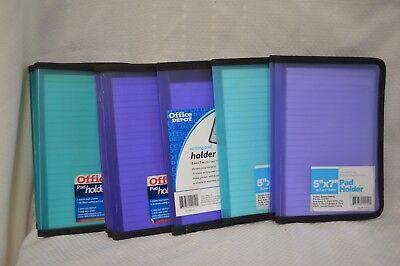 U Pick Writing Pad Holder 5 X 7 Organize Storage Pockets Paper School Business