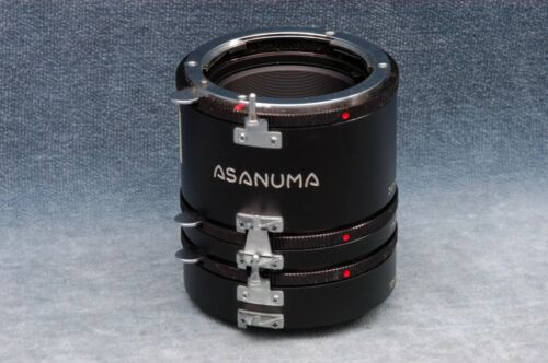 ASANUMA NIKON F MOUNT (NON AI) EXTENSION TUBE SET - FREE USA DELIVERY