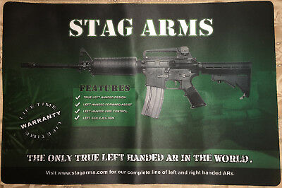 COLLECTOR Stag Arms Extra Large Mouse / Keyboard / Counter Pad 24 x 16 Inches