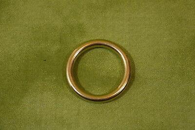 """Кольца 1"""" O Ring Solid Brass"""