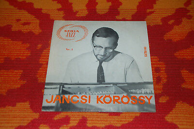"♫♫♫ Jancsi Korossy - Seria Jazz Nr.1, Electrecord EDD-1104, very Rare 10"" ♫♫♫"
