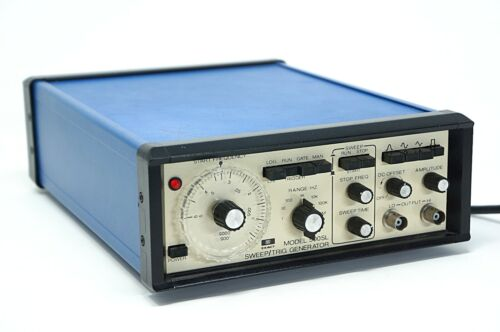 Exact 500SL Sweep / Trig Audio Frequency Signal Generator 0.05 Hz - 3 MHz Tested