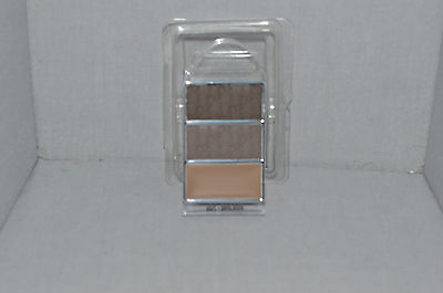 DIOR All-In-Brow 3D BackStage Pro Long-Wear Brow Contour Kit  #001 Brown New Tes