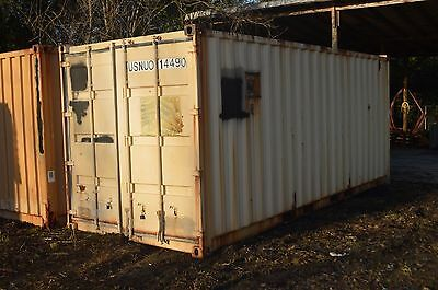 Complete Latrine System Inside Insulated 20 Shipping Container
