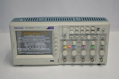 New Tektronix Tds2024c 4ch 2gss 200mhz Color Tft Digital Storage Oscilloscope