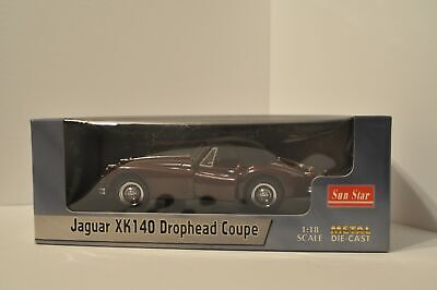 Jaguar XK140 Drophead Coupe 1:18 Diecast Sun Star 150 for sale  Shipping to Canada