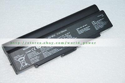 9Cell Genuine VGP-BPSL9 Battery For SONY VGN-SZ600-SZ700 VGN-AR500-AR800 VGN-NR