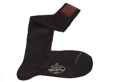GALLO CALZE SMOKING SOCKS  SOCKEN CHAUSSETTES FILO SCOZIA  SUPERSOTTILE  40 - 42 (Smoking Socks)