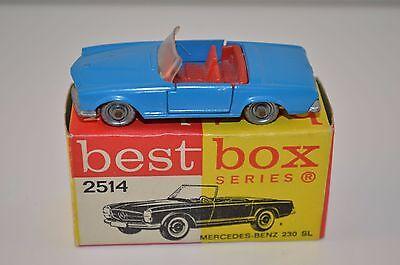 Bestbox Best Box 2514 Mercedes Benz 230 blue near mint in box very scarce