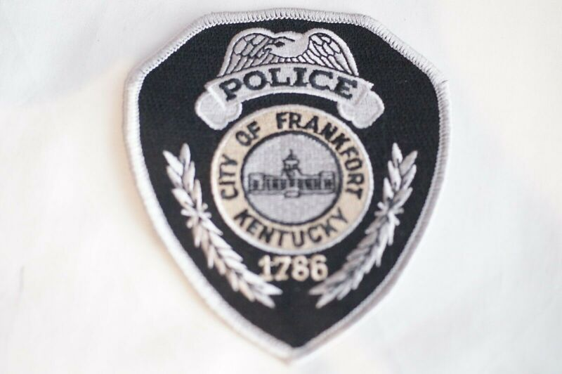 US City of Frankfort Kentucky Police Patch 1