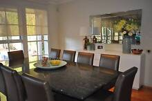 SOLID ITALIAN GRANITE CUSTOM MADE DINING TABLE 260X110CM STUNNING Dandenong South Greater Dandenong Preview