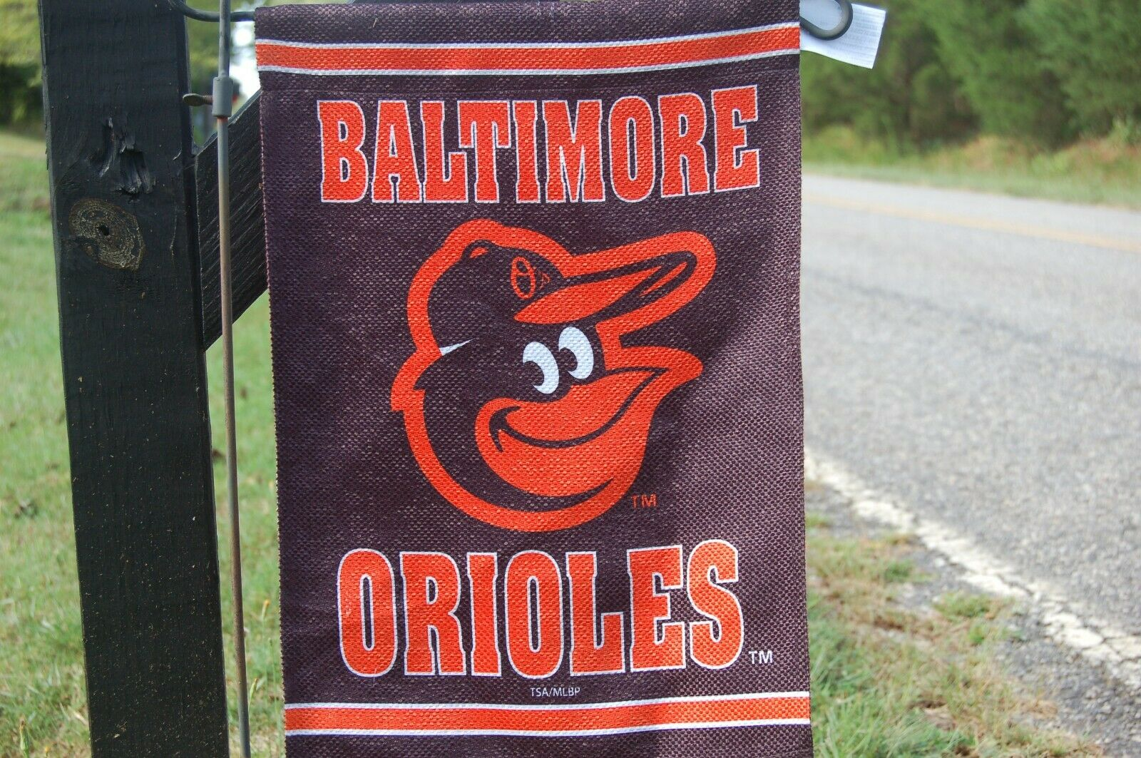 Baltimore Orioles Garden Flag and Yard Banner