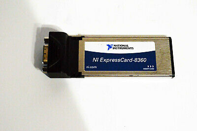 National Instruments Ni Expresscard-8360 Expresscard Mxi Interface