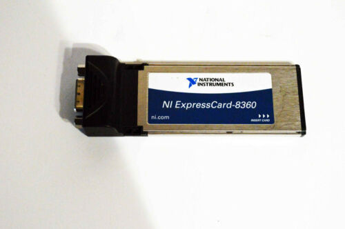 National Instruments NI ExpressCard-8360, ExpressCard MXI Interface with cable