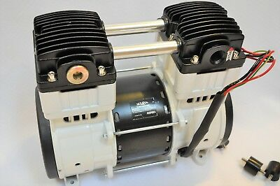 Twin Piston Oilless Vacuum Pump Pushpul 10cfm Science Medicdental Lab Workshop
