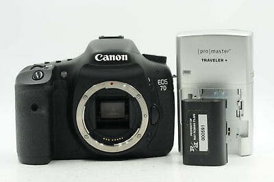 Canon EOS 7D 18MP Digital SLR Camera Body                                   #766