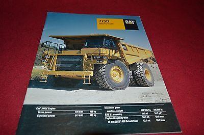 Caterpillar 775D Rock Haul Truck Dealer's Brochure DCPA4