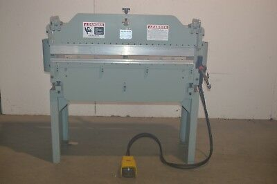 U.k. Made Bantam Pneumatic Press Break 48 X 12ton