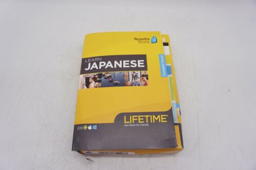 Rosetta Stone - Learn UNLIMITED Languages with Lifetime access - Japanese