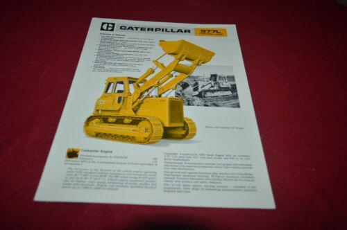 Caterpillar 977L Crawler Loader Brochure DCPA14 ver2