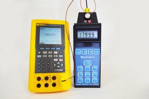 TRANSMATION 1065-MTC  Precision Digital Thermometer & Temperature Calibrator