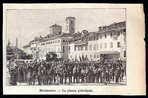 MONTANARO-XILOGRAFIA-LA-PIAZZA-PRINCIPALE-LE-CENTO-CITTA-039-D-039-ITALIA-1899