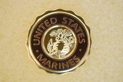 US USA USMC United States Marines Military Hat Lapel Pin