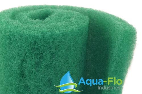 "2"" x 20"" x 36"" Green Bulk Roll Filter Media for Koi Pond Filters & Skimmers"