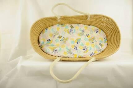 Disney Babies Designer Moses Basket Baby Bassinet Japanese Fabric