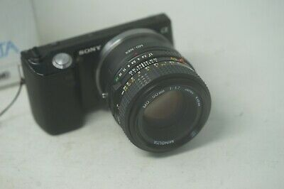 SONY E MOUNT ADAPTED 50MM F1.7 MINOLTA MD PRIME LENS ALL A7 NEX,A6000