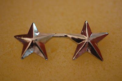 Us Usa 2 Star General Military Hat Lapel Pin