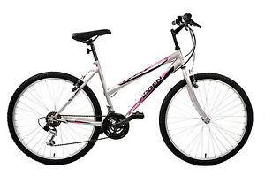 ARDEN-LADIES-MOUNTAIN-BIKE-26-WHEEL-18-FRAME-SILVER-RRP-169-99-HALF-PRICE-85