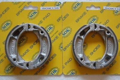 FRONT&REAR BRAKE SHOES fit HONDA XR 70 80 100, 1985-2005 XR70 XR80 XR100