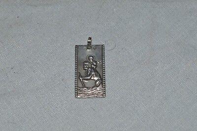Belle Medal Religious Silver/St Christopher