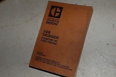 Cat Caterpillar 528 Skidder Parts Manual Book Catalog Grapple Crawler Tractor