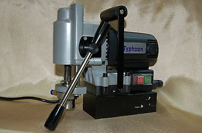 Bluerock Tools Typ-28a Mini Magnetic Drill Press Typhoon Small Mag Annular