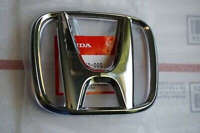 Honda Hybrid Sedan - 09 - 11 Honda Civic Sedan 4DR Emblem 09-13 Fit Front Grille H Logo 75700-TF0-000