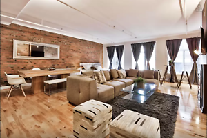 Loft in heart of Old Montreal! Notre Dame W close to St-Laurent!