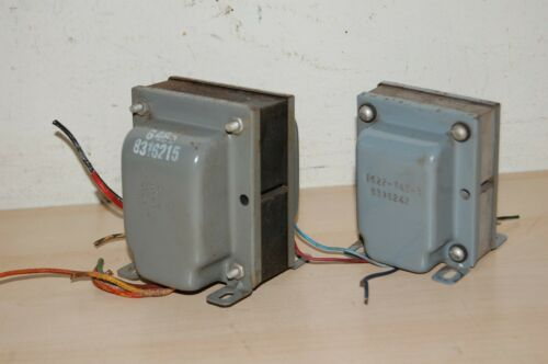 Vintage OUTPUT & POWER TRANSFORMERS from 6V6 P/P Tube Amplifier