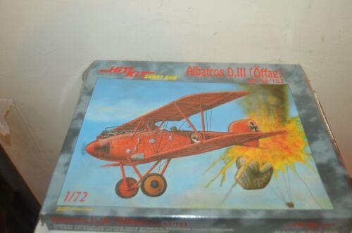 Model Aircraft HIT KIT Albatros D.III Offag Super Detail Vintage New 1/72