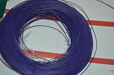 22 Awg Gauge Solid Hook Up Wire Purple 50ft 300 Volts