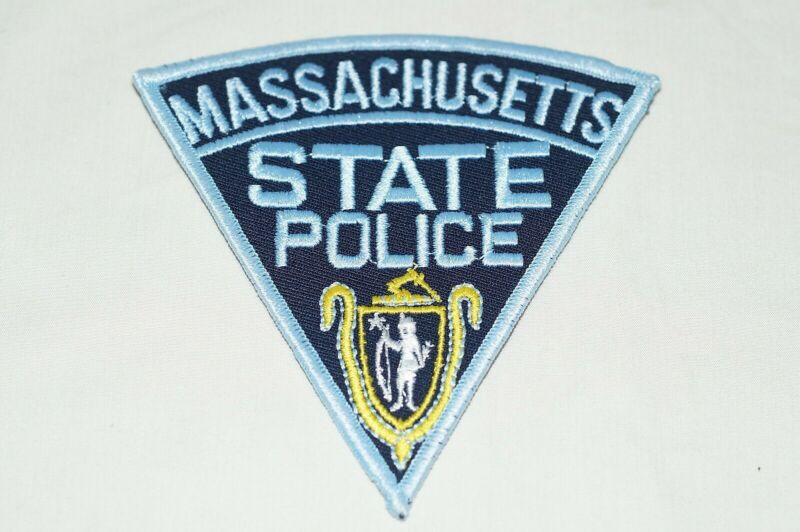 US Massachusetts State Police Patch 1