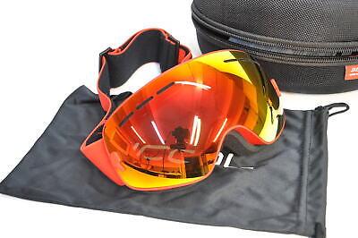Profi Skibrille Mit Spiegel Beschichtung Anti Fog-UV400 Schutz 17-IP1950/045 (1950 Brille)