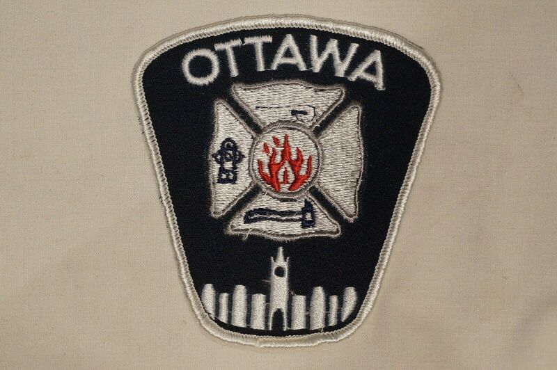 Canadian Ontario Ottawa Fire Dept Services Error Patch Single