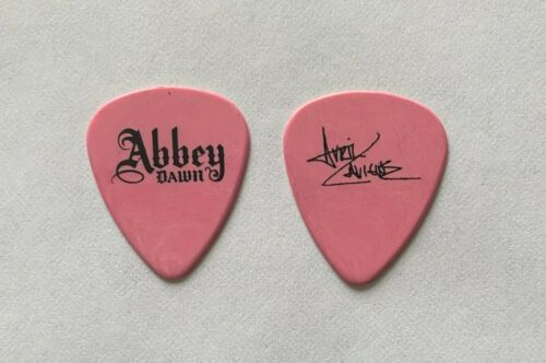 AVRIL LAVIGNE - Abbey Dawn Signature 2010 Tour Issued Guitar Pick Pink