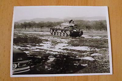 altes Foto amerikanischer Panzer tank USA M 24 M24