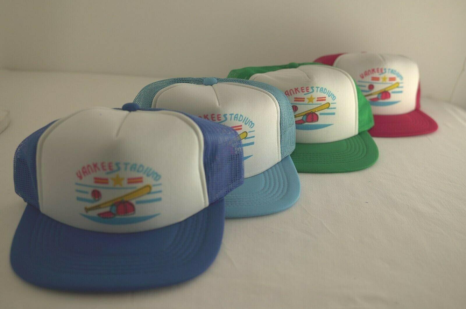 4 NEW Retro Mütze Sport Kappe Basecap Baseball Cap Unisex Vintage YANKEE STADIUM