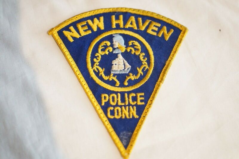 US New Haven Connecticut Police Patch 3