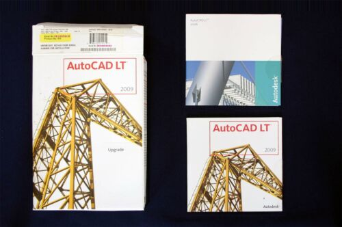AutoCAD LT 2006 & 2009 Upgrade ● 1 Seat with Serial Number
