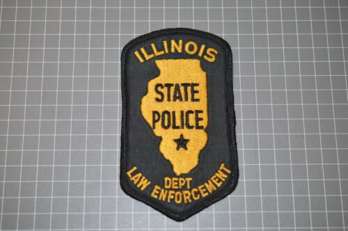 Illinois State Police Patch (B11)